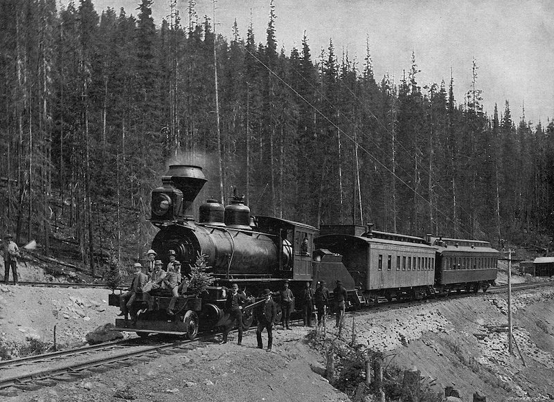 Calgary is a Major Stop on the Canadian Pacific Railway