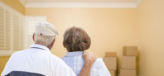 Senior Citizens Selling Home